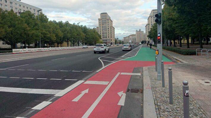 Mehr Platz für Fahrradfahrer*innen - Fahrradstadt Berlin