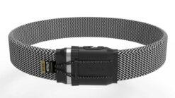 Litelok Gold Wearable - Das neue Fahrradschloss - Fischgrät Grau