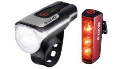 Sigma Sport Aura 80 & Blaze - Fahrradlicht-Set mit integriertem Bremslicht